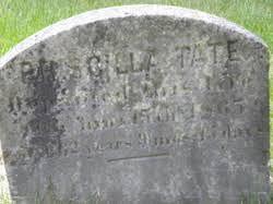 Priscilla Jackson Tate (1803-1865) - Find A Grave Memorial