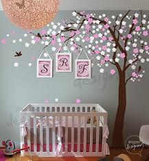 Wall Decor Pink Blossom Tree Wall Decal Nursery Wall Decals Wall Sticker Decoracion De Pared Decoracion De Muros Decoracion Habitacion Bebe Nina