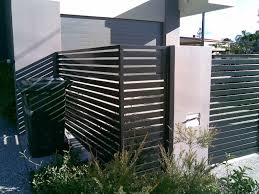 Decoration The Best Concepts Of Horizontal Fence Panels That Design Well With Black And Brown Colors Grey And Black Co Fence Design Modern Fence Fence Panels