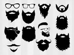 Beard On Board Decal Logo For Car Van Laptop Vinyl Sticker Funny Hair Hipster Gtti Gm