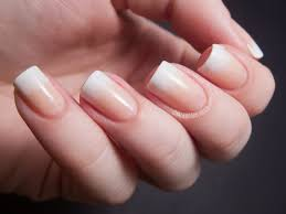 Gradient Nail French Manicure Papillon Day Spa