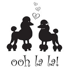Ooh La La Poodles Wall Quotes Decal Wallquotes Com