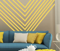Wall Decal Stripes Vinyl Stickers To Make A Room Border Or Stripes For Cool Room Decor