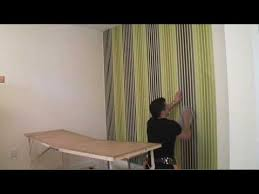 how to put up wallpaper you