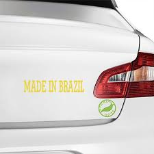 Made In Brazil Decal Decals Stickers Decals Vinyl Decal Stickers