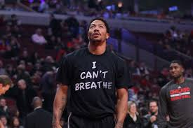Derrick Rose explains why he wore 'I Can't Breathe' shirt ...