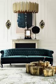 use velvet sofas in your living room decor