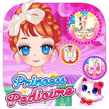 princess pedicure summer fashion
