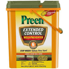 preen 13 75 lb extended control weed