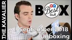 gq best stuff box september 2018
