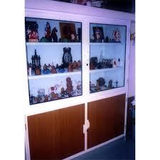 living room wall showcase लकड क