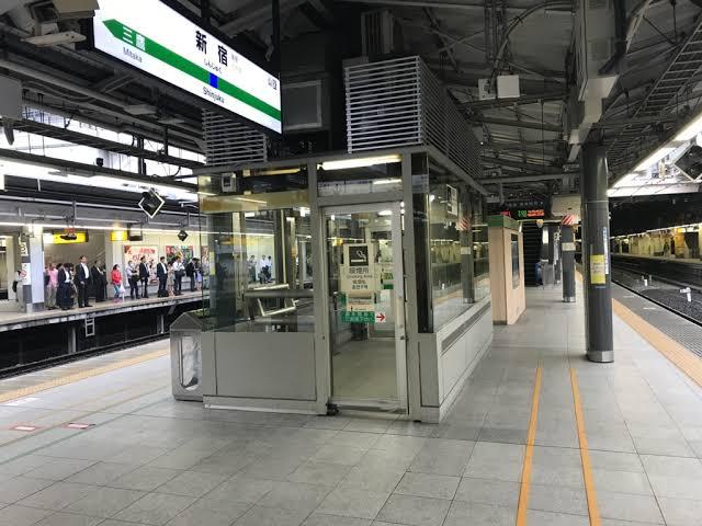 """「新宿駅のホーム」の画像検索結果"""""""