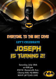 Batman Birthday Party Invitations 8 99 Available At Www