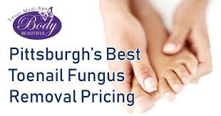 toenail fungus removal treatment body