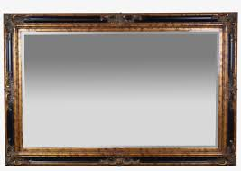 ft entree beveled glass wall mirror