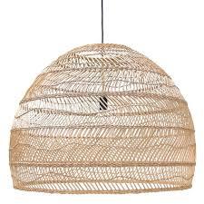 rattan wicker pendant lights