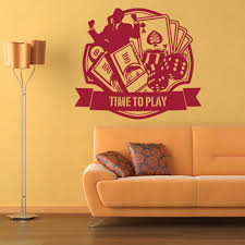 Shop Casino Sport Wall Decal Free Shipping Today Overstock 10673698