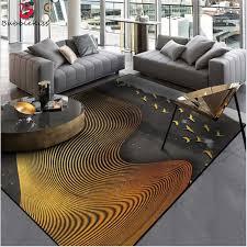 Bubble Kiss Area Rugs Bedroom Carpet Abstract Atmosphere Dark Gray Gold Line Bedroom Rug Modern Kids Room Carpet Home Decor Carpet Aliexpress