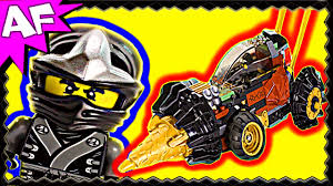 COLE's EARTH DRILLER 70502 Lego Ninjago Stop Motion Set Review - YouTube