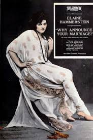 Why Announce Your Marriage? (1922) directed by Alan Crosland ...