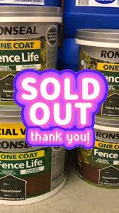 Fence Paint In Stock Johnstone S 5ltr Pollock Farm Equipment Ltd