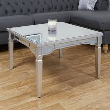 florence mirrored coffee table abreo
