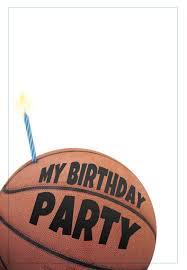 Free Printable Basketball Invitation Con Imagenes Cumpleanos