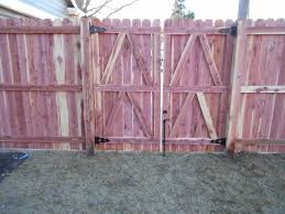 Fencing Wood Privacy Fence In Olivette Mo Double Gate Install In Olivette Missouri