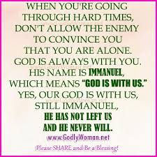 inspirational quotes from the bible for difficult times image