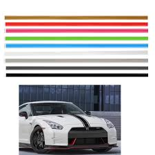 2 X 72 Racing Stripe Vinyl Pinstripe Decals Stickers Car Truck Vehicle Racing Stripes Sticker Cardecal Sticker Aliexpress