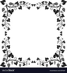 frame vine royalty free vector image