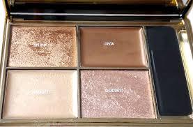sleek makeup highlighting palette in