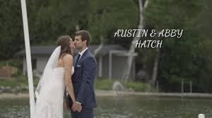Ex-Michigan athletes Austin Hatch, Abby Cole wedding video