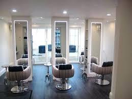 hair salon ideas funky lighting options