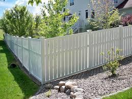 Semi Private Vinyl Fence Phillips Fencing Backyard Fences Vinyl Fence White Vinyl Fence