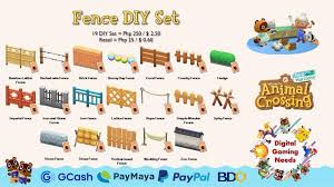 Animal Crossing New Horizons Diy Sets 1 2 Video Gaming Video Games On Carousell