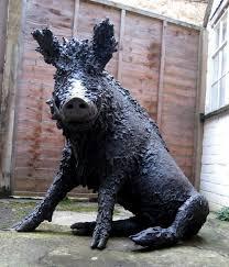 bronze sculpture by sculptor dido