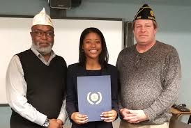 Jenna Smith of Scotch Plains Honored by American Legion | TAPinto