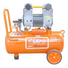 Máy bơm hơi LEAD 30L không dầu tua chậm 1400vòng/phút – Linh Kiện Điện Cơ
