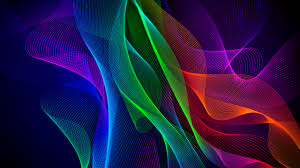 colorful abstract razer phone stock