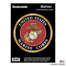 Us Marines Seal Vinyl Decal Sticker Window Wall Car