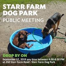 Bprw On Twitter We Hope To See All The Starr Farm Dog Park Fans Tomorrow Night At Our Public Meeting Drop In Any Time To Learn About The New Fence Design Options