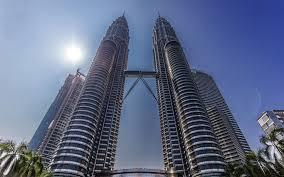 تحميل خلفيات كوالالمبور أبراج بتروناس ماليزيا أسفل عرض ناطحات