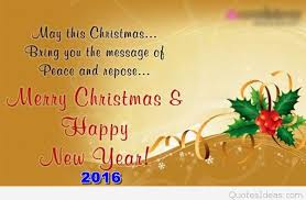 merry christmas happy new year for friends quotes