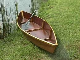 cajun pirogue wooden boat kit and plans