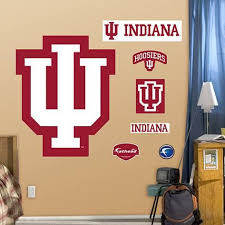 Indiana University Logo Wall Decal Allposters Com