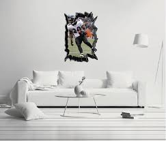 Nfl Player 20 Ed Reed Wall Decal Egraphicstore