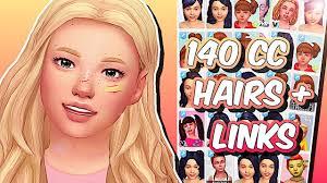 the sims 4 maxis match kids hair
