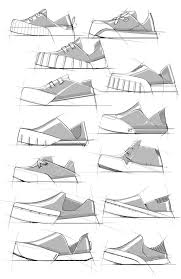 Footwear Sketches by Duane Marshall, via Behance | Shoe design sketches,  Sketches, Design sketch