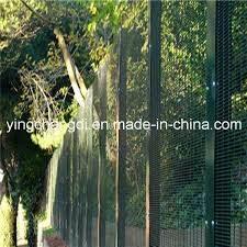 China 76 2mm 12 7mm 3 0 5 Anti Climb High Security Fence China High Security Fence Anti Climb Fence